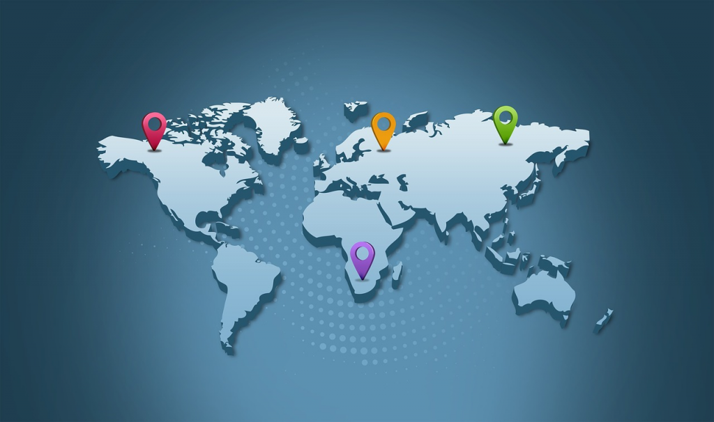 Cyber threats are location based